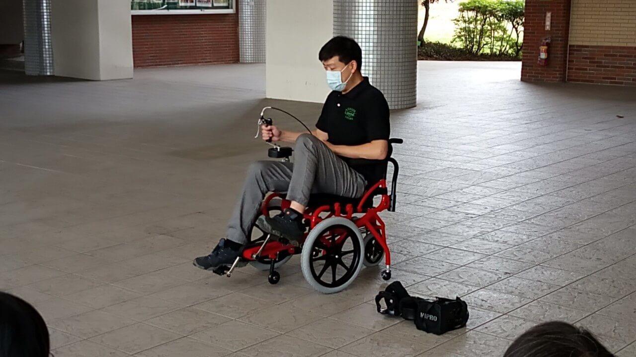 復健輪椅使用說明會1