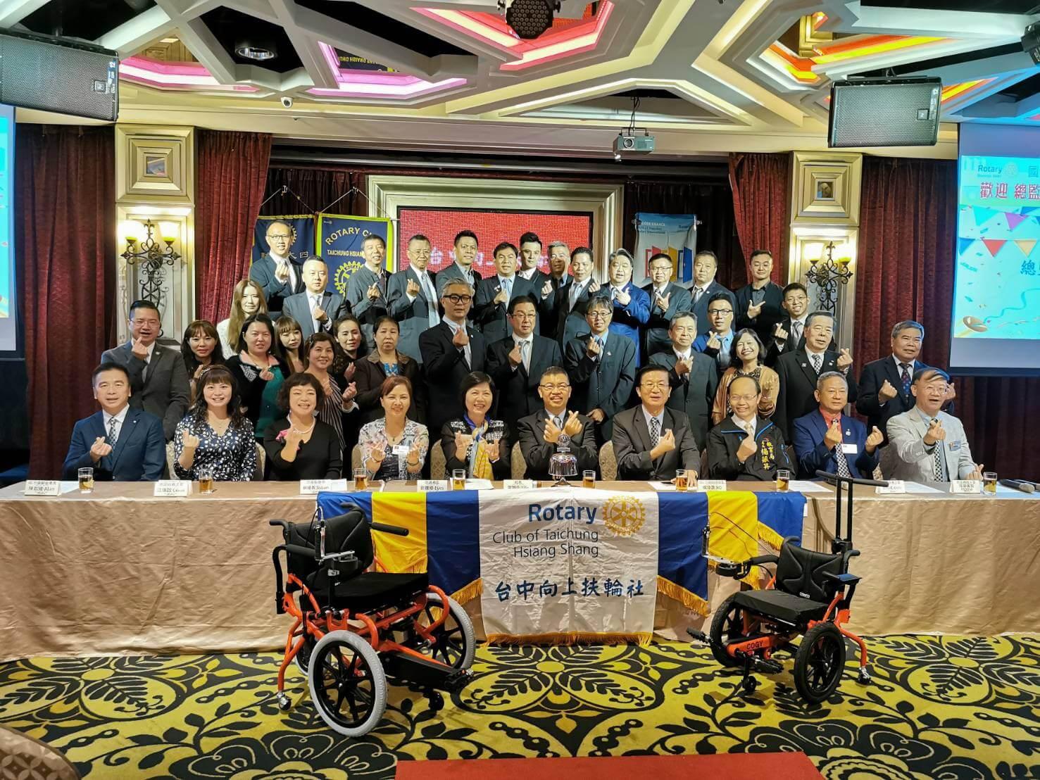 扶輪社復健輪椅捐贈儀式3